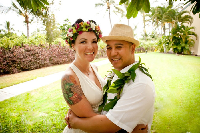 5) Your spouse will teach you the true meaning of Aloha.