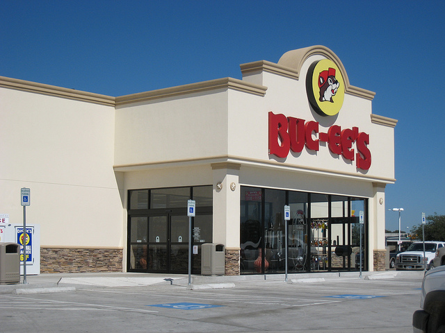 3. Wait until we see a Buc-ee's on a roadtrip before we stop for a bathroom break.