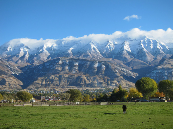 3. Northern Utahns are also surrounded by natural beauty.