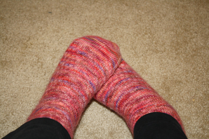 12. ...And the cozy fuzzy socks.