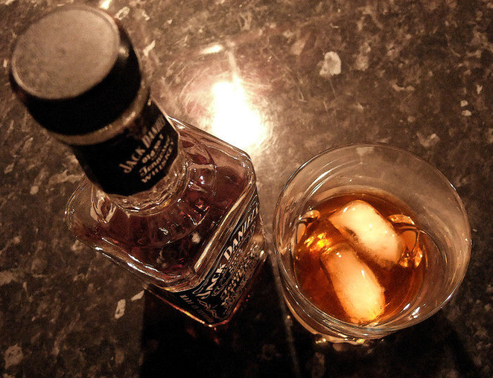 9. You can save that fruity drink for someone else; we'll take a whiskey, please!