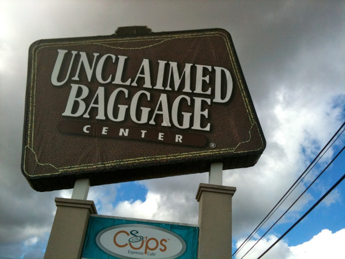 9. Scottsboro, Alabama is home to the Unclaimed Baggage Center - the only lost luggage store in the world.