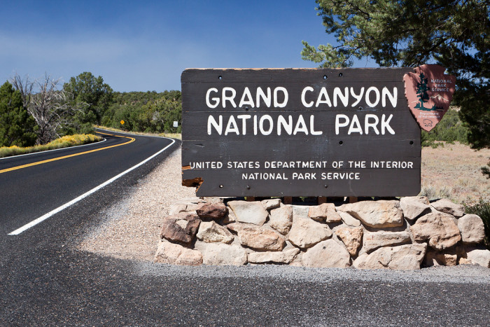 N is for national (and state) parks.