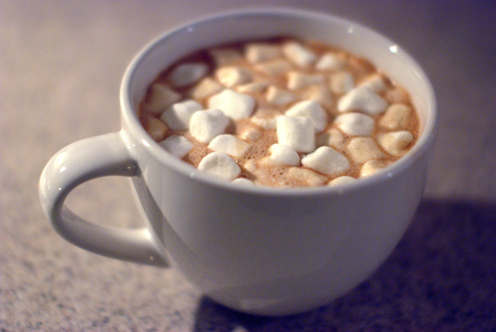 2. Unlimited hot cocoa!