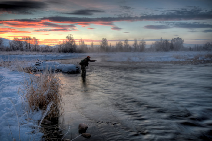 12. Go fishing on the Provo River.