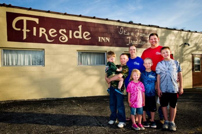8. Fireside Inn, Enochsburg (County Line Rd, Greensburg)