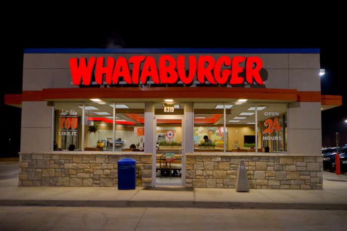 11. A world without Whataburger? That's just insane.