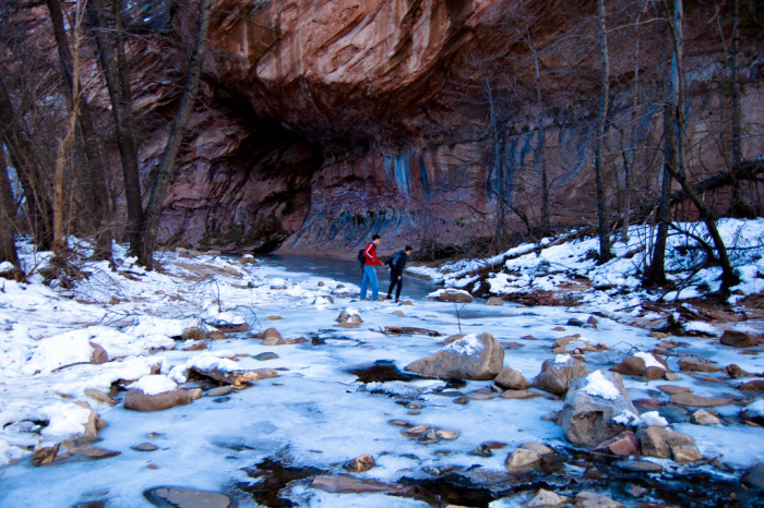 5. Despite the snow, ice, and wind chill, we still find reasons to get out and be active!
