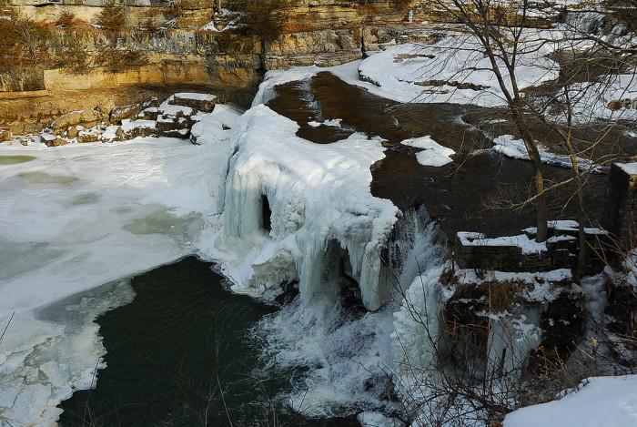 5. Even our waterfalls look great frozen!