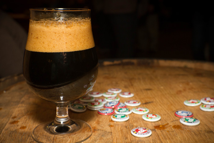 8. Abundant dark craft beers.