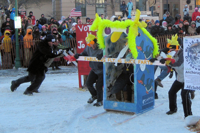 3) A place for outhouse races!