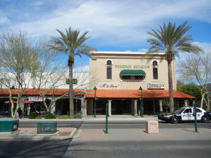 5. Mesa's Main Street is currently undergoing some revitalization, thanks to the recent opening of the light rail futher into town.