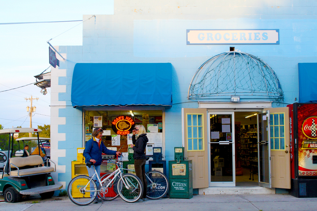 visit this charming tiny town for a taste of old florida
