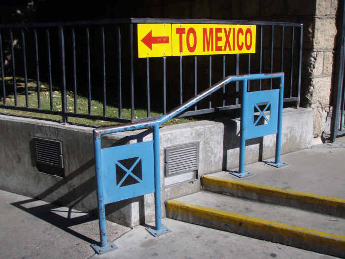 M is for Mexico.
