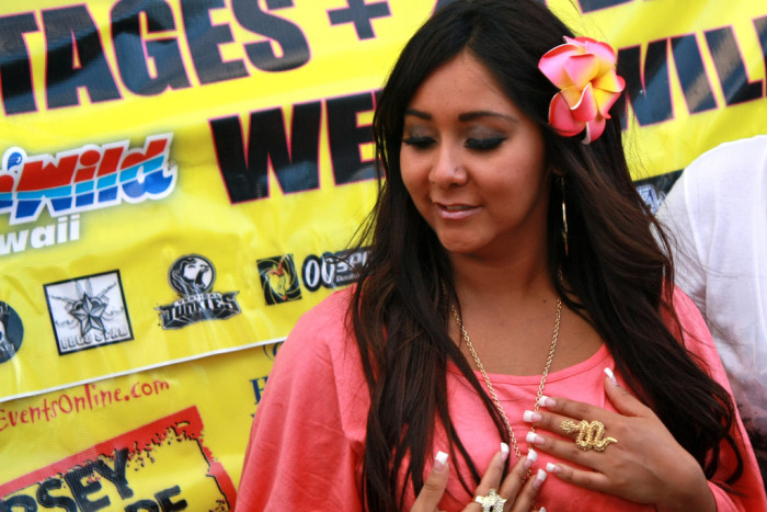 2. Speaking of beaches, is the Jersey Shore anything like the MTV show?