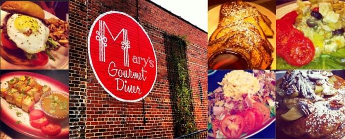 1. Mary's Gourmet Diner, Winston-Salem