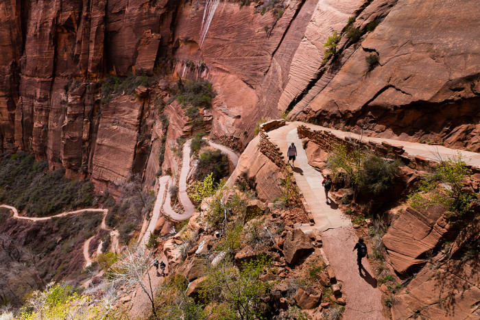 4. Overcome your fear of heights at Angel's Landing in Zion National Park.