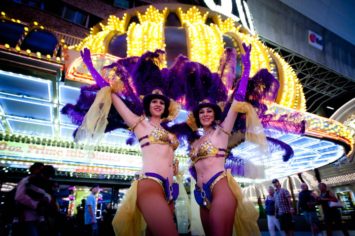 4. Are you a showgirl?