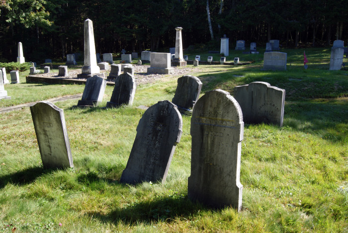 6. In Wells, you may not place an advertisement in a cemetery.
