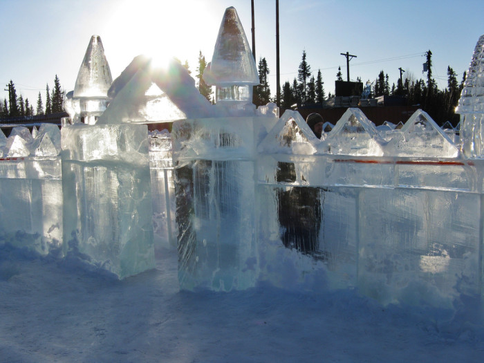 3) The World Ice Art Championship in Fairbanks.