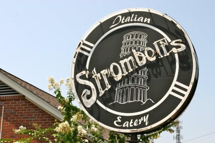 5. Stromboli's Italian Eatery, Starkville