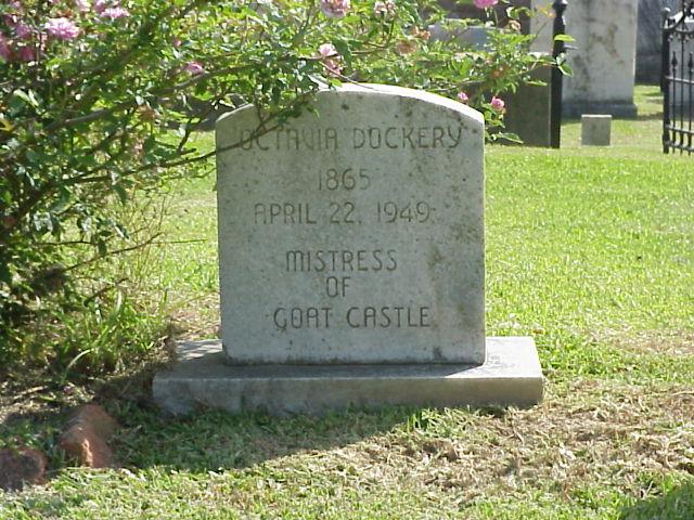 5. Jane Surget Merrill, Richard Dana, and Octavia Dockery at Goat Castle, Natchez