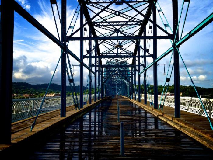 6) Walk those Chattanooga bridges
