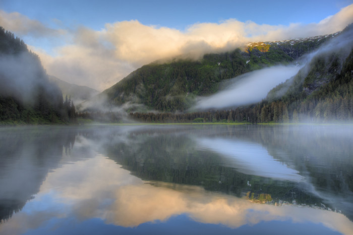 4) Generally, in Alaska, where water meets land there exists a great photo opportunity.