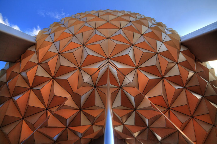 2. Spaceship Earth at Epcot