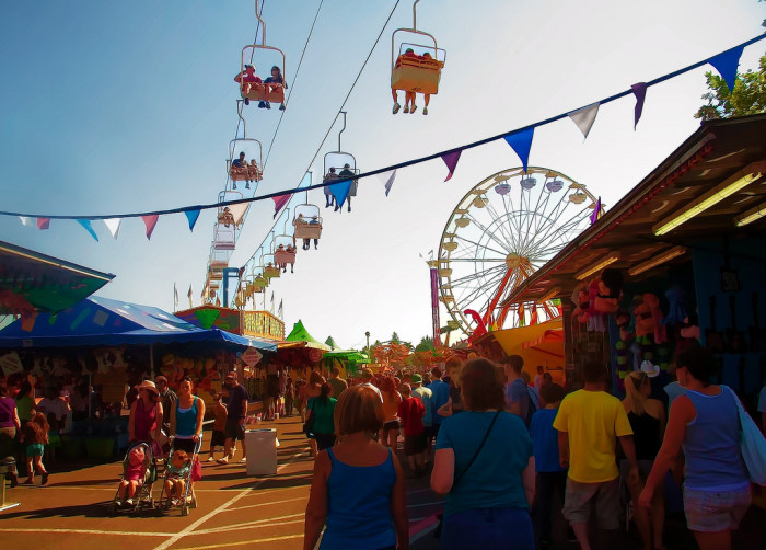 8. Our many wonderful festivals and fairs