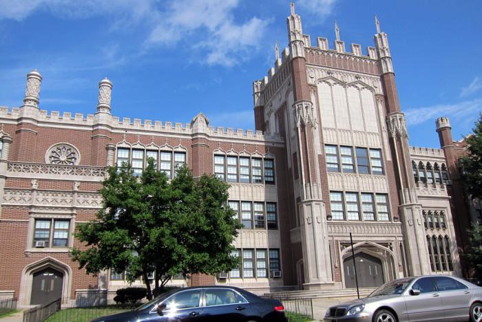 13. The schools.