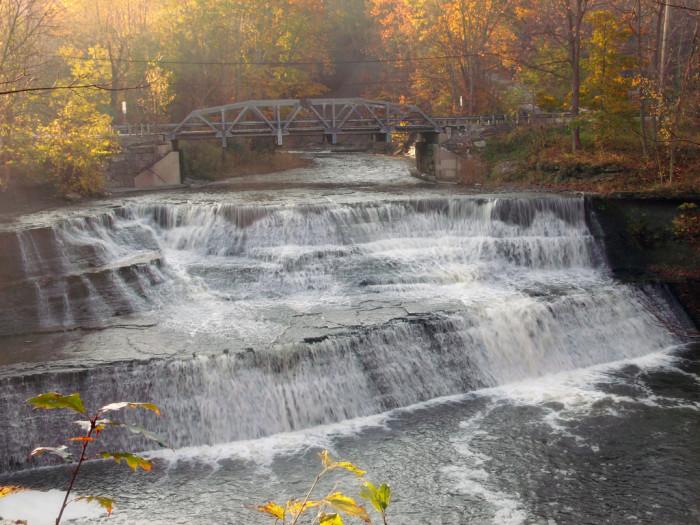 5. Paine Falls (Painesville)