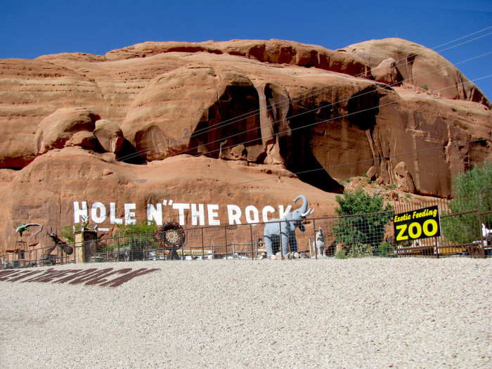 4. Hole in the Rock, near Moab