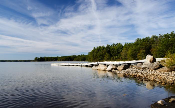 5. Sebago Lake, Cumberland County