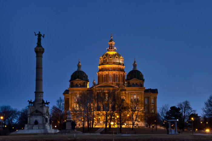 6. Our grand and magnificent state capitol building.