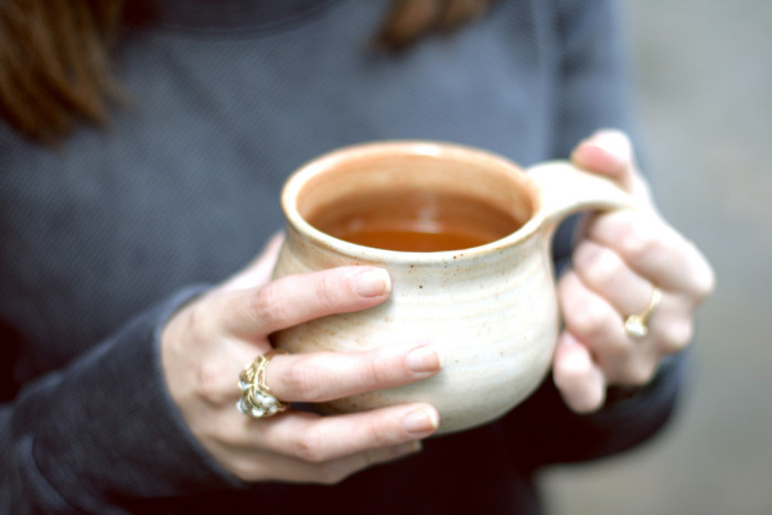 14. Yum, winter is also the time for warm drinks and socializing with family and friends.