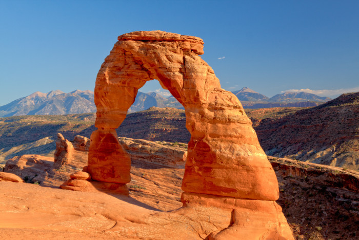 2. Take a selfie at Delicate Arch in Arches National Park.