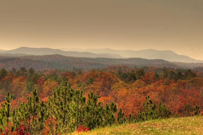 2. Cheaha Mountain