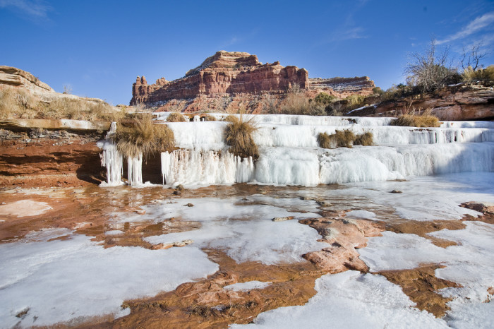 20. Waterfalls are cool in the winter.