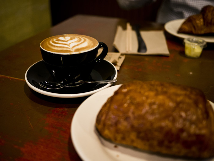 7. It's the perfect time to hang out in coffee shops and cuddle up inside.