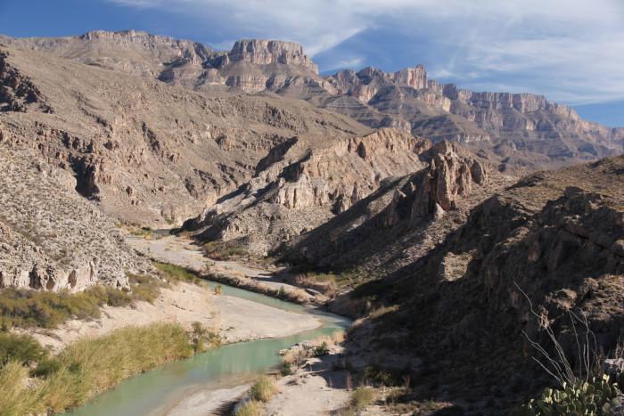 2) Marufo Vega Trail at Big Bend National Park