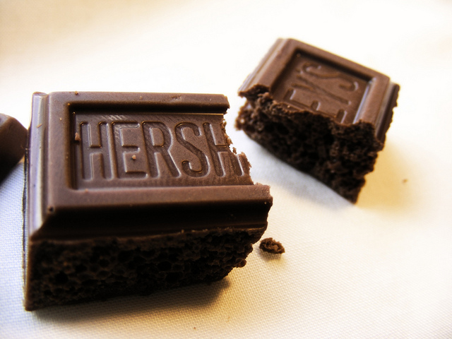 7. Yum, Hershey's chocolate is a staple not only on Halloween but all year round.