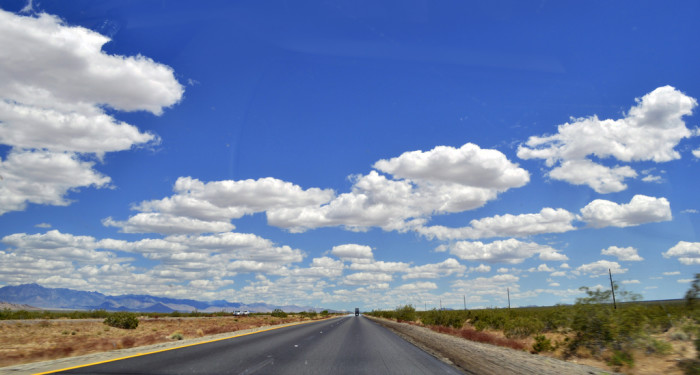 7. Arizona has the wide open spaces that make the sky seem endless and allows you to see for miles in any direction.