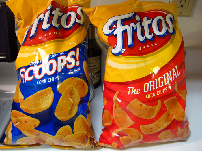 6. And no Fritos to put in our chili.