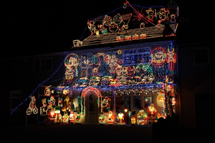 2. You will be fined if your holiday lights are left up any later than January 14th.