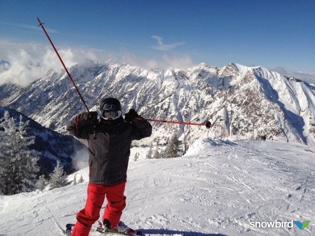 16. Going skiing in Utah's gorgeous mountains.