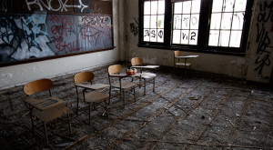 The Abandoned Spring Garden Elementary School In Philadelphia Is Striking