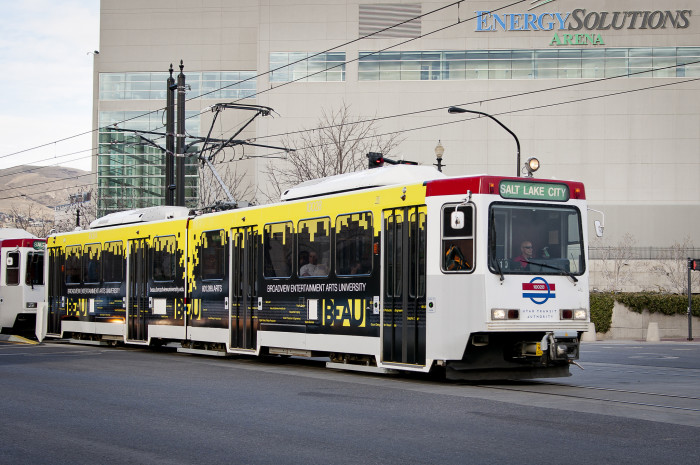 10. Take TRAX to Downtown Salt Lake City this December.