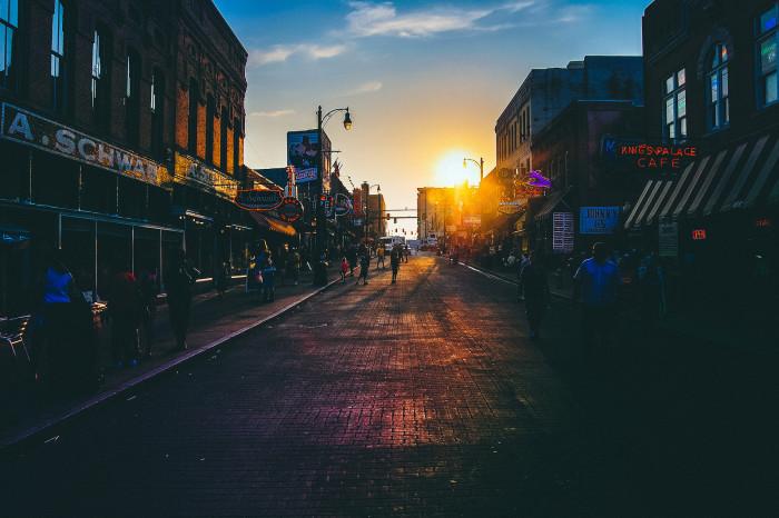 7) Go walkin' in Memphis