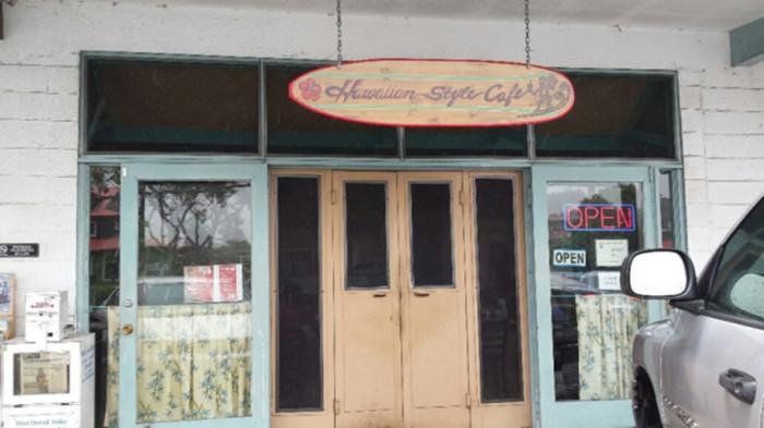 7) Hawaiian Style Cafe, Waimea